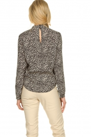 Set |  Blouse with leopard print Tigra | animal print  | Picture 5
