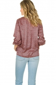 Set |  Blouse with floral print Sweet | pink  | Picture 5