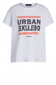 Set |  Cotton T-shirt with print  Urban | white  | Picture 1