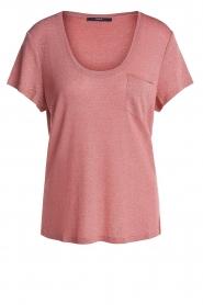 Set |  Lurex top Sparkle | pink  | Picture 1