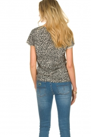 Set |  T-shirt with leopard print Groovy | black  | Picture 4