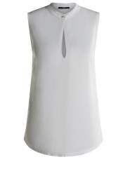 Set |  Sleeveless top with cut-out Delicate | white  | Picture 1