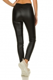 Set |  Faux leather legging Dab | black  | Picture 5