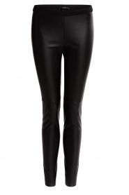 Set |  Faux leather legging Dab | black  | Picture 1