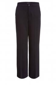 Set |  Classic palazzo trousers Patricia | black  | Picture 1