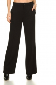 Set |  Classic palazzo trousers Patricia | black  | Picture 2