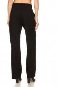 Set |  Classic palazzo trousers Patricia | black  | Picture 5
