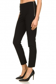Set |  Pantalon Zipper | black  | Picture 4