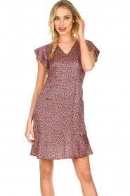 Set |  Dress with floral print Sweet | pink  | Picture 2