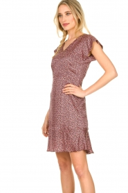 Set |  Dress with floral print Sweet | pink  | Picture 5