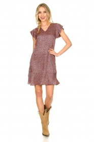 Set |  Dress with floral print Sweet | pink  | Picture 3