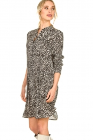 Set |  Dress with leopard print Tigra | black  | Picture 5