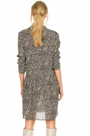 Set |  Dress with leopard print Tigra | black  | Picture 6