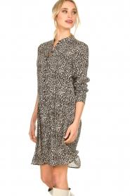 Set |  Dress with leopard print Tigra | black  | Picture 5