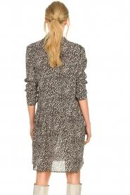 Set |  Dress with leopard print Tigra | black  | Picture 6