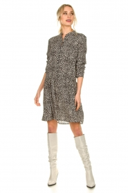 Set |  Dress with leopard print Tigra | black  | Picture 3