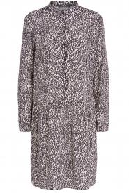 Set |  Dress with leopard print Tigra | black  | Picture 1