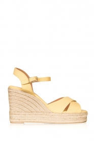 Castaner |  Wedges Blaudell | yellow
