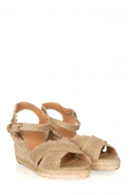 Castaner |  Wedges Bromelia | gold  | Picture 3
