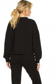 Goldbergh |  Sweatshirt with logo print Sonia | black  | Picture 5