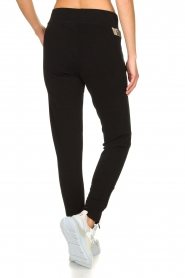 Goldbergh |  Sweatpants with fishnet details Ann | black  | Picture 6