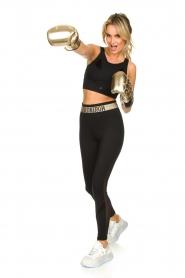 Goldbergh |  Sports top with brand logo Gabi | black  | Picture 3