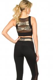 Goldbergh |  Sports top with brand logo Gabi | black  | Picture 5