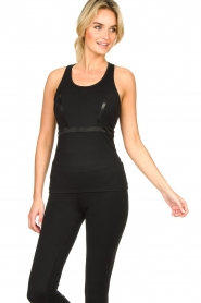Goldbergh | Sport top Nathaly | black  | Picture 2