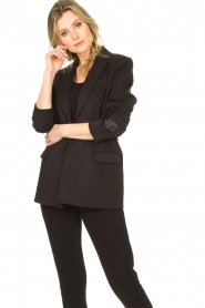 Goldbergh |  Sportive blazer Blair | black  | Picture 2