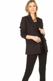 Goldbergh |  Sportive blazer Blair | black  | Picture 4