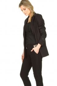 Goldbergh |  Sportive blazer Blair | black  | Picture 5