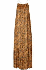 Lolly's Laundry    Floral printed maxi dress with lurex Merian   multi    Picture 1