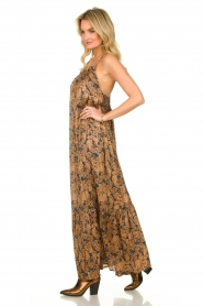 Lolly's Laundry    Floral printed maxi dress with lurex Merian   multi    Picture 3