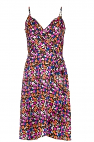 Silvian Heach |  Floral print dress Nisok | black  | Picture 1