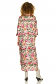 Silvian Heach |  Maxi dress with floral print Donski | pink  | Picture 6