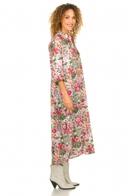 Silvian Heach |  Maxi dress with floral print Donski | pink  | Picture 5