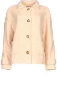 JC Sophie |  Short coat Cacao | pink  | Picture 1