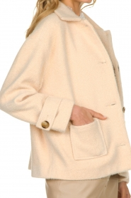 JC Sophie |  Short coat Cacao | pink  | Picture 7