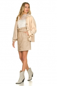 JC Sophie    Short coat Cacao   pink    Picture 3