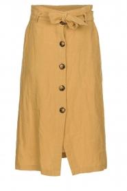 JC Sophie |  Paperbag skirt Cadiz | brown  | Picture 1