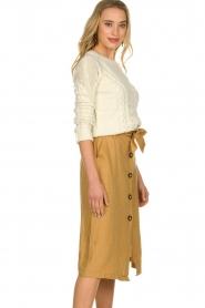 JC Sophie |  Paperbag skirt Cadiz | brown  | Picture 4