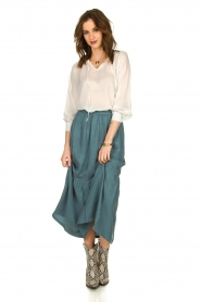 JC Sophie |  Midi skirt Callista | green  | Picture 2