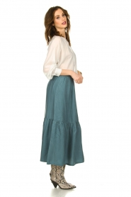 JC Sophie |  Midi skirt Callista | green  | Picture 4