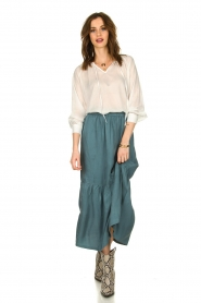 JC Sophie |  Midi skirt Callista | green  | Picture 3