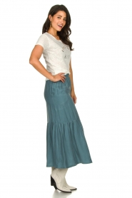 JC Sophie |  Midi skirt Callista | blue  | Picture 4