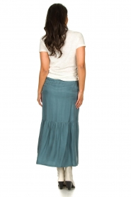 JC Sophie |  Midi skirt Callista | blue  | Picture 5