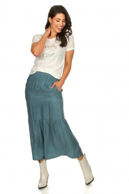 JC Sophie |  Midi skirt Callista | blue  | Picture 3
