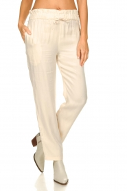 JC Sophie    Trousers with drawstring Camden   natural    Picture 2