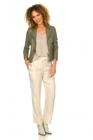 JC Sophie |  Trousers with drawstring Camden | natural  | Picture 3