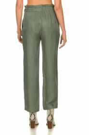 JC Sophie |  Trousers with drawstring Camden | green  | Picture 5